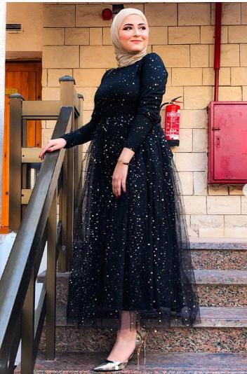 صورة احلي الفساتين علي الانستقرام , تنسيقات فساتين انستقرام