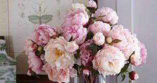 صورة طريقه روعه لصنع بوكيه من الورود الصناعيه,تنسيق ورود صناعية