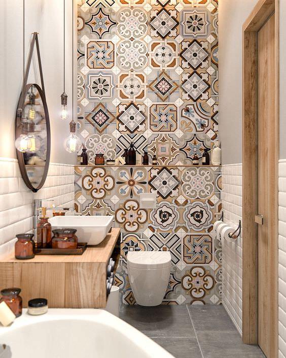 صورة حمامات صغيرة , افضل تصميم ديكور حمام صغير