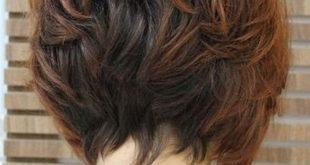 صورة اجمل قصات الشعر القصير مدرج , احدث موضه لقصات الشعر