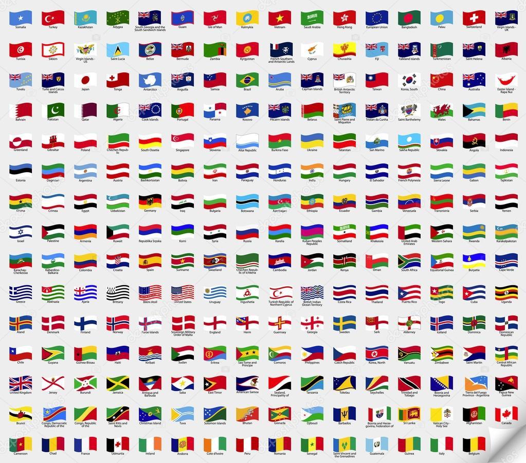 اعلام جميع دول العالم اشكال وعلامات مميزه لاعلام دول العالم المرأة العصرية
