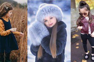صورة ملابس شتوية للاطفال البنات , احدث موديلات شتوي للاطفال