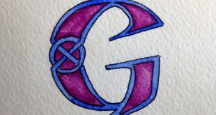 صورة خلفيات حرف G ,احلى صور مزخرفة بحرفG