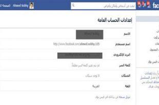 صورة تغيير اسم الفيس بوك , كيفية تغيير اسم الانترنت