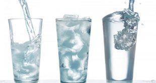 صورة شرب الماء البارد، فوائد مذهلة للماء البارد