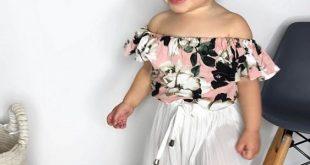 صورة يا طعامة بنوتك بالملابس الصيف الفخمة , ملابس بنات اطفال صيف 2019