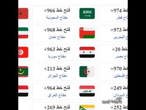 00963 مفتاح اي بلد التعارف على مفتاح اي بلد المرأة العصرية