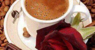 مساء برائحة القهوة , شرب القهوة
