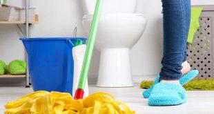 حافظى على سيراميك الحمام , تنظيف جدران الحمام من الصابون