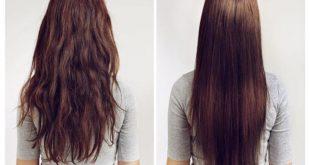 طرق فرد الشعر طبيعيا