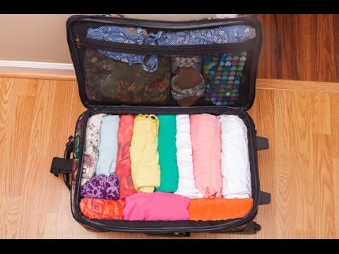 صورة كيف ارتب حقيبة السفر 9911