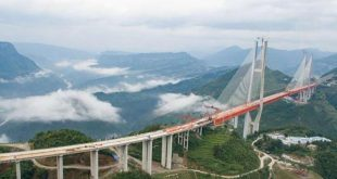اكبر جسر معلق فى العالم