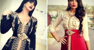 لباس المحجبات بالمغرب , استايلات لبس مغربي للفتيات