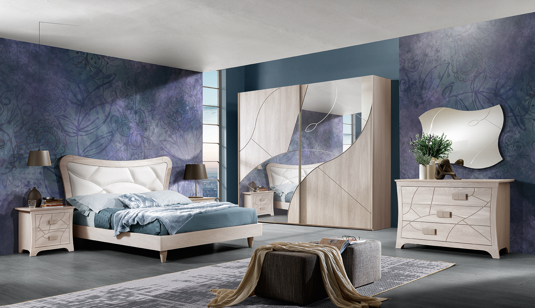 صورة افخم غرف نوم للعرسان ،غرف نوم مودرن كاملة 2019 6431 5